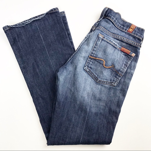 SOLD - 7 For All Mankind Classic Bootcut Jeans